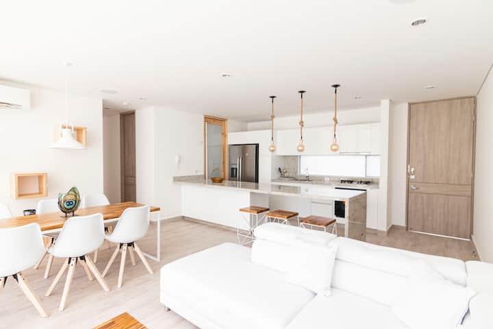 New 3DBR luxurious flat Serena del Mar Cartagena