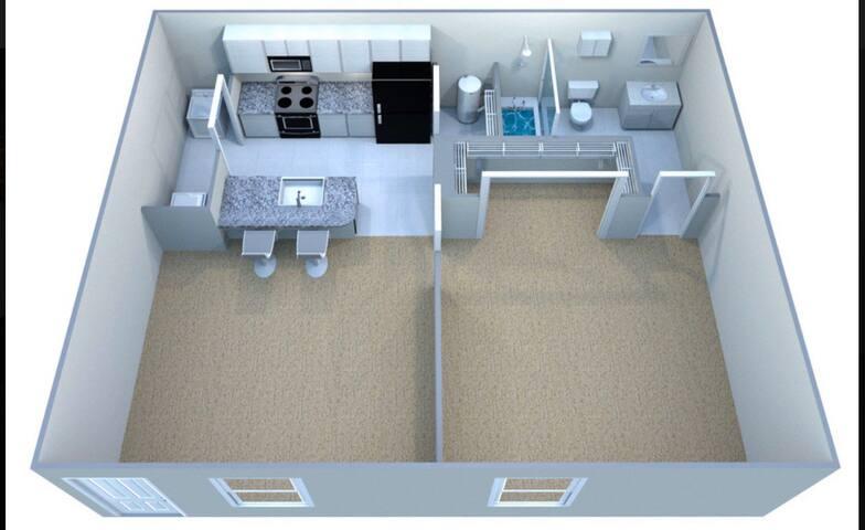 Cozy 1 bedroom apartment!