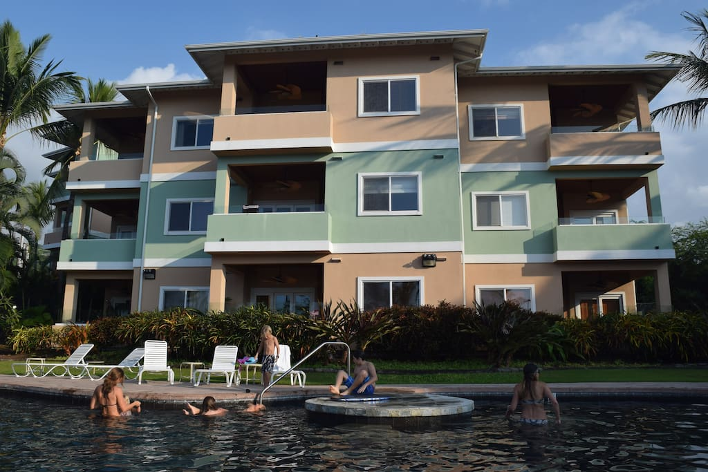 View of Condo Complex from the Pool.