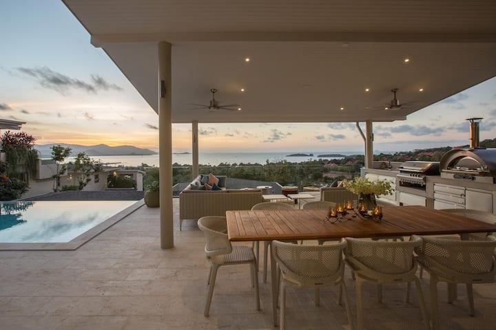4 Bedroom Sunset Luxury Villa, Private Pool