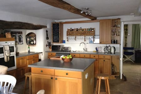 2 private rooms in Dartmoor Cottage - Crockernwell
