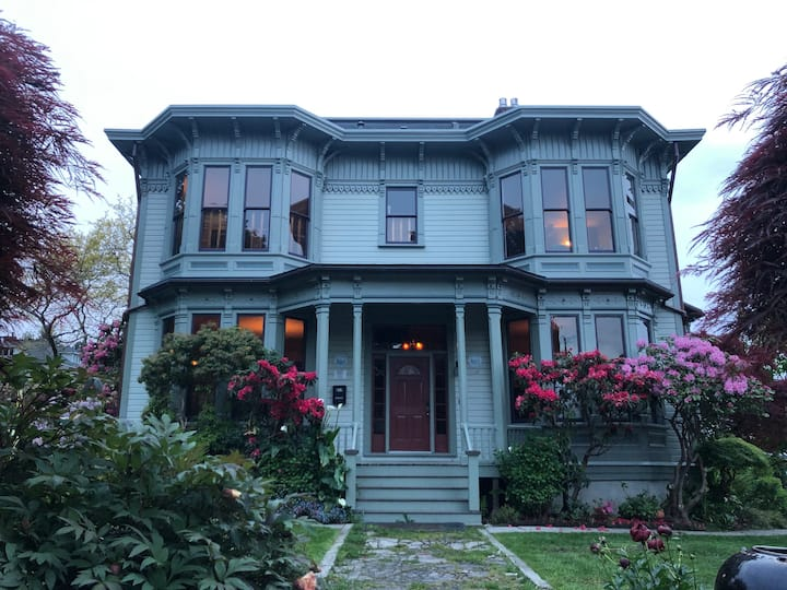 Astoria's Historic Fisher House:  Carriage House