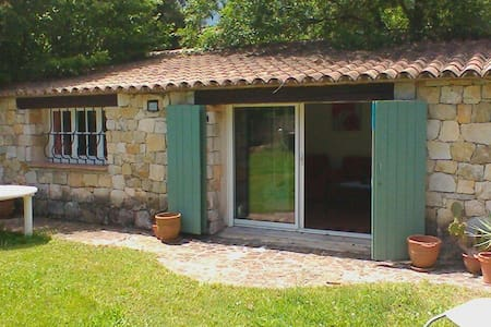 Tranquil Cottage with Pool and Parking - Opio - Bungaló