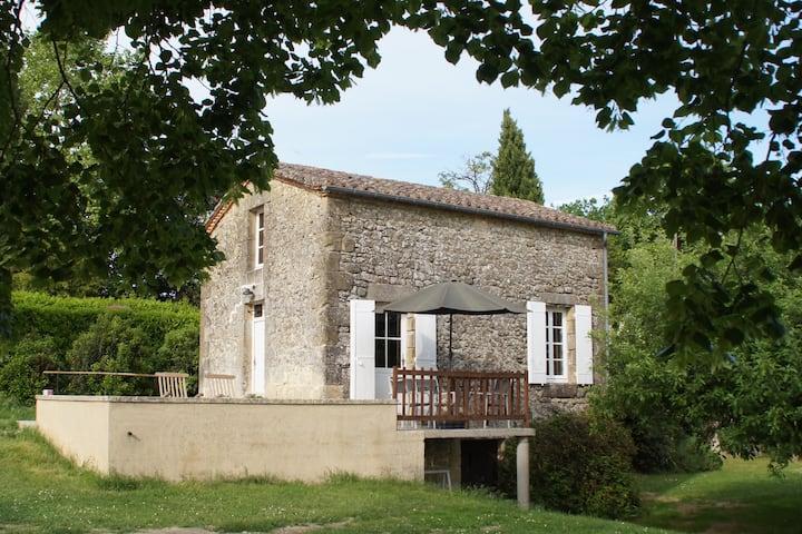 Romantisch huisje met een prachtig panorama
