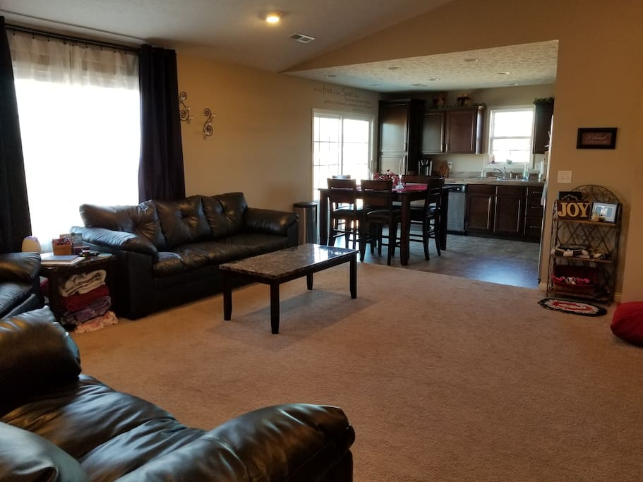 Common Living Room and Kitchen