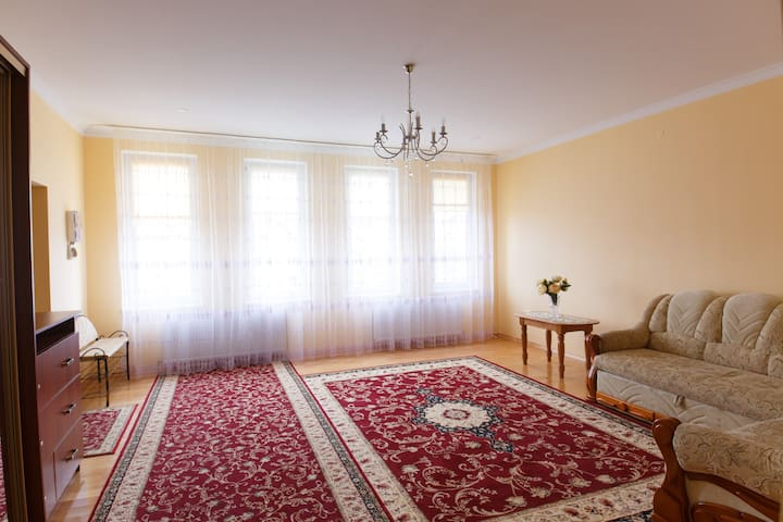 Квартира для отдыха в центре Трускавца!10мин Бювет