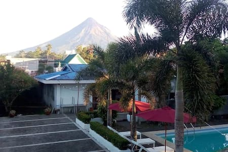 Mayon view house rental