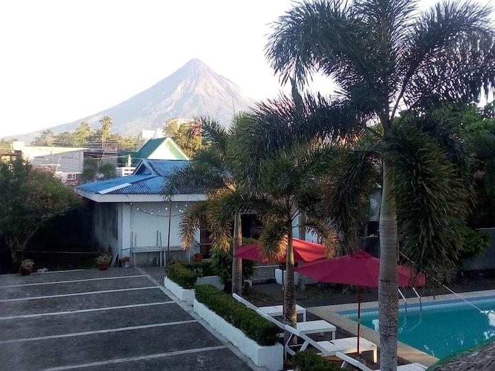 Mayon view house rental