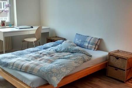 Großes Zimmer mit zentraler Lage - Hambourg - Bed & Breakfast