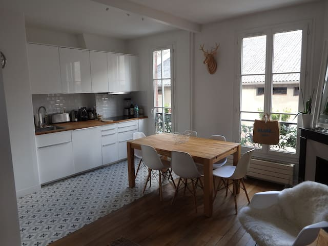 Bel appartement cosy Clichy - Batignolles - Clichy - Apartment