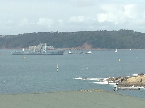 Chalet with Stunning Views across Plymouth Sound.