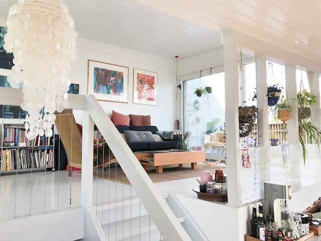 Charming house with a great view over Oslo.