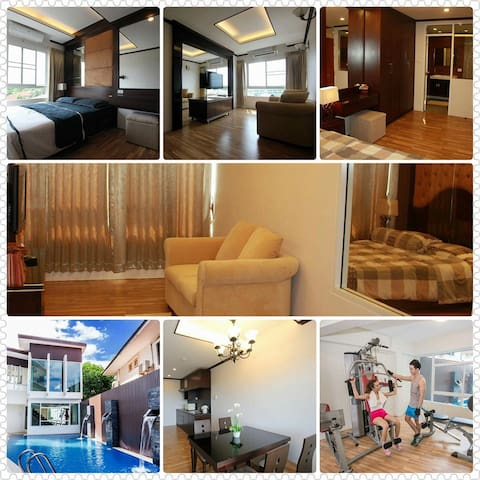 Brand new Condo just outside city center - San Phi Suea - Apto. en complejo residencial