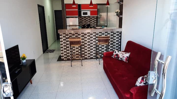 Apartamento com varanda no centro de Paulo Afonso