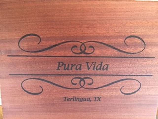 The Pura Vida Retro RV - Very Cool BNB - Terlingua - Campingvogn