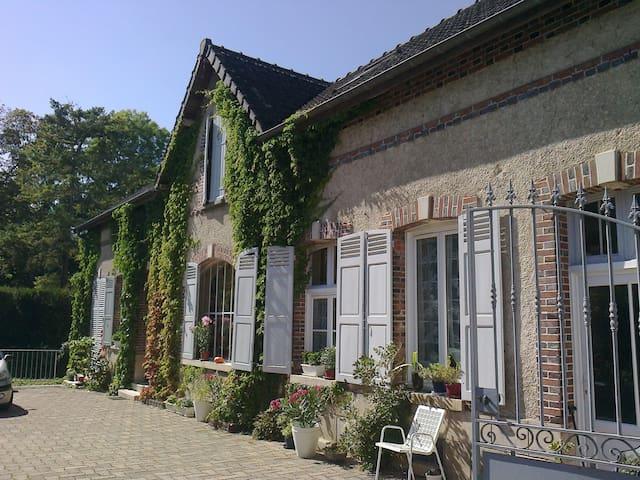Toile de Jouy bedroom - Nogent-sur-Seine - Дом