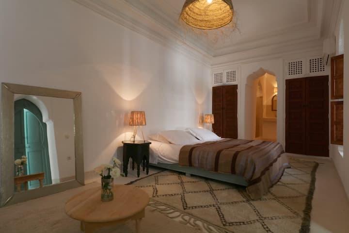 Chambre Double Khal-Riad Dar Dar in Marrakech