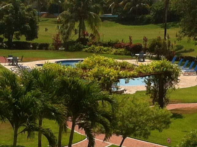beautifull golf view Riviera Nayarit apartment