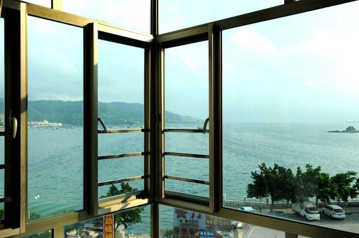 海边一线海景房 - Shenzhen - Gjestehus