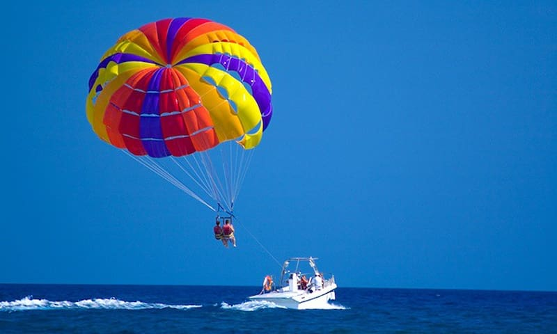 Parasailing nearby