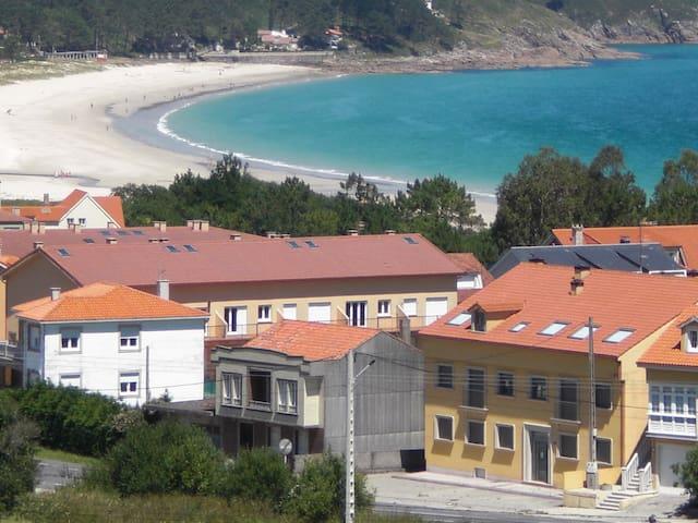 ático playa Langosteira - Escaselas - Wohnung