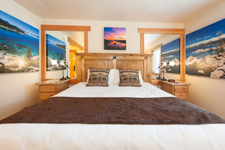 One room & bath sleeps 2  no pets - Tahoe City - Apartament