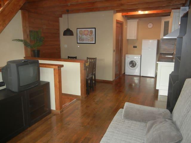Precioso duplex con terraza - Palau-de-Cerdagne - Apartamento