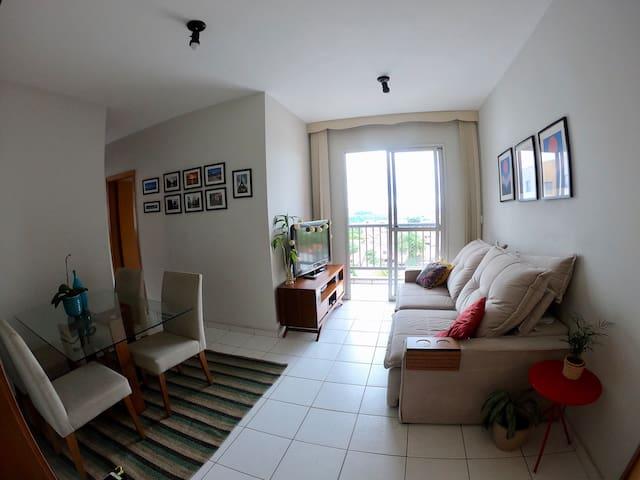 Quarto em apartamento Região Pampulha - Jaraguá BH