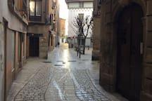 Calles alrededores, casco histórico