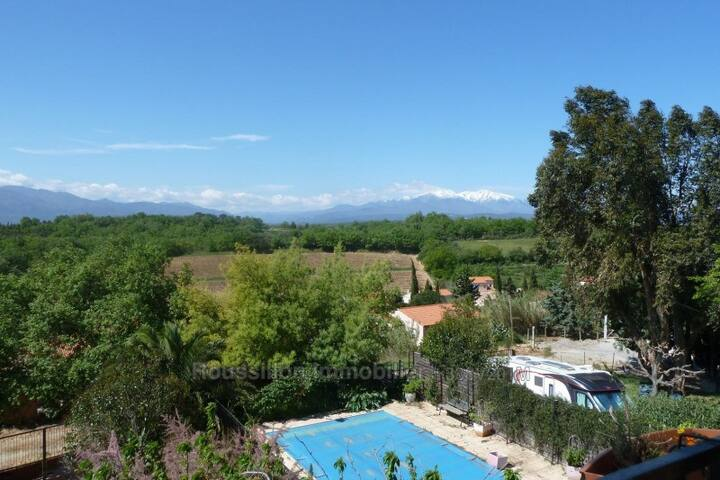 Villa méditerranéenne de charme, jardin et piscine