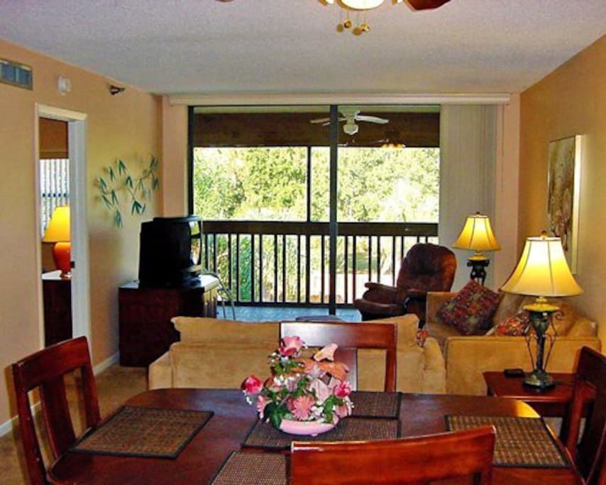 Relax in our clean, comfortable, and spacious two-bedroom units.