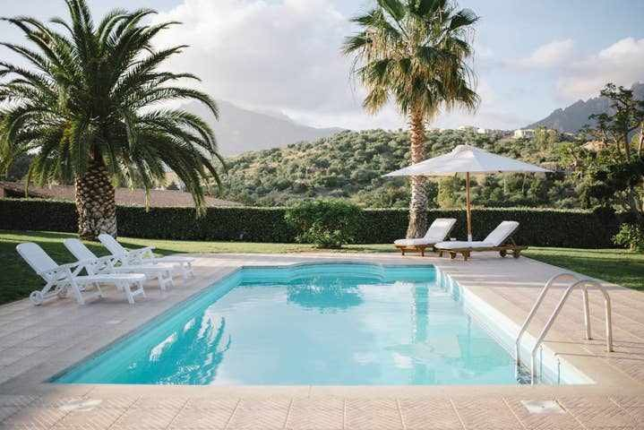 Luxury villa con piscina privata vista mare - WIFI
