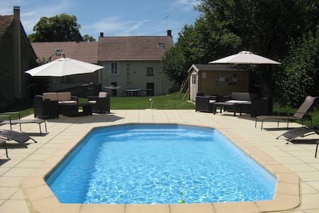 Meadow View Gîtes - Bluebell Cottage (Sleeps 10)