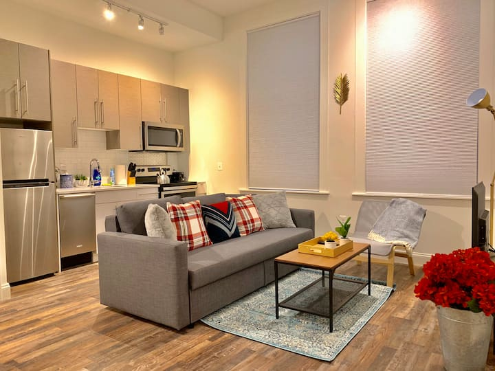 Modern Inner Harbor Loft w/ Free Private Parking!!