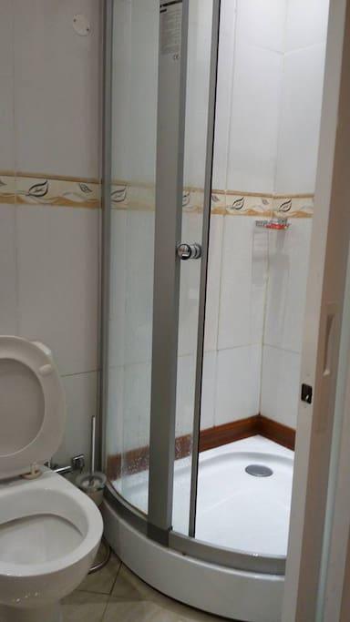 Bathroom with Solar hot water