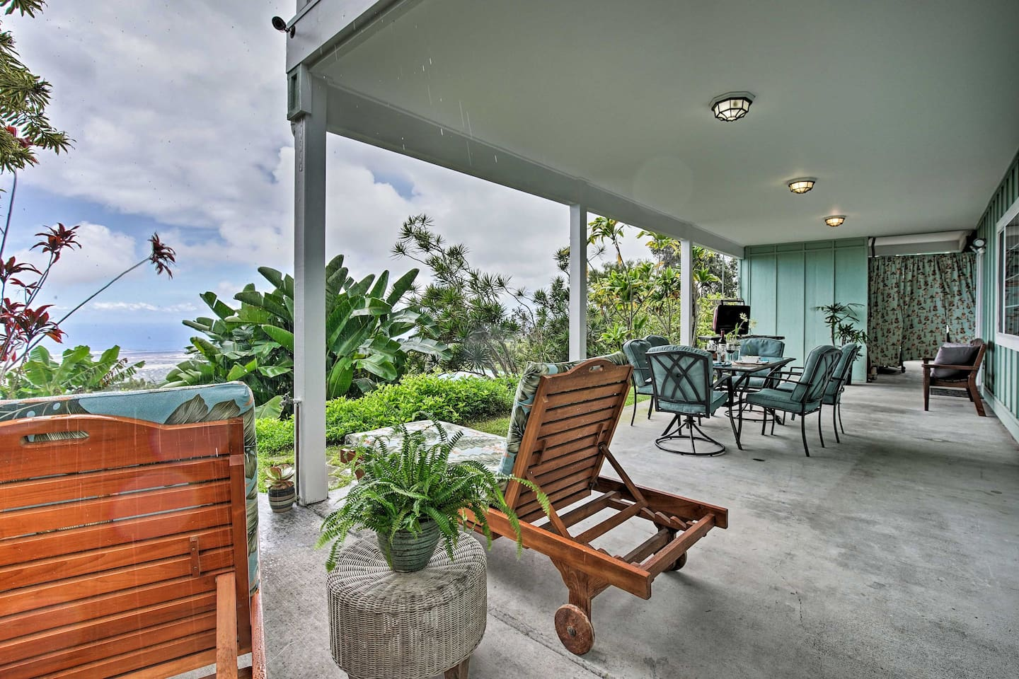 Enjoy spectacular views from the patio of this Kailua-Kona vacation rental!