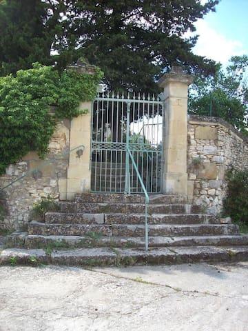 maison de campagne à 10 mn de nimes - Parignargues - Leilighet