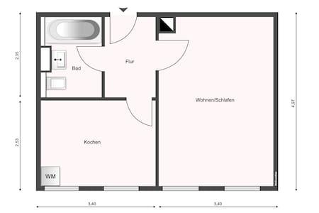 ⭑ Erstbezug! Gemütliches Apartment nahe Auensee ⭑