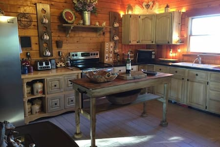 Country Log House Close To Acadia National Park. - Lamoine