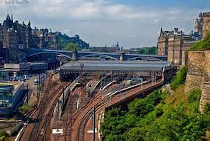 Waverley Train Station (5 minutes from flat by bus)