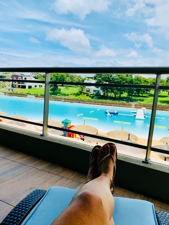 Aqua Village 🏝 hermoso depto de 3 dormitorios