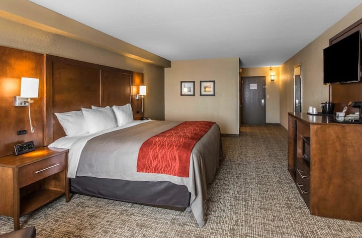 Enjoy a comfortable stay at a PERFECT location!