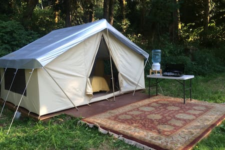 The Retreat at Tide Creek - Deer Island - Tent