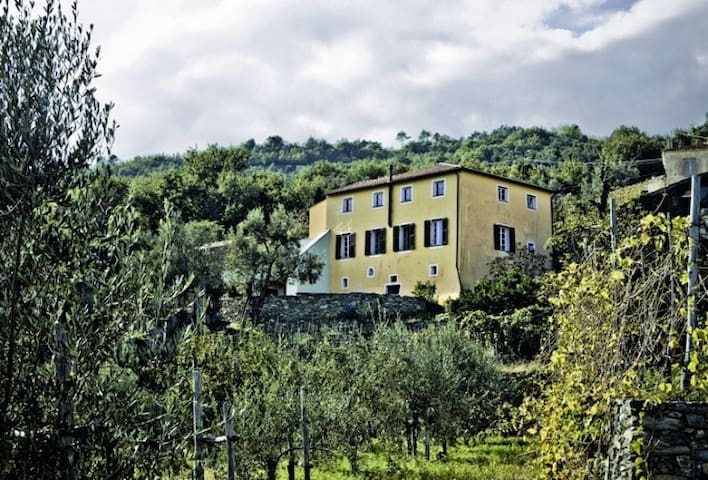 18th cent. country house - Calice ligure - Huis