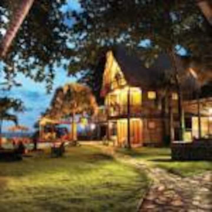 Cabarete Eco Lodge 4 Tree Houses, private beach!