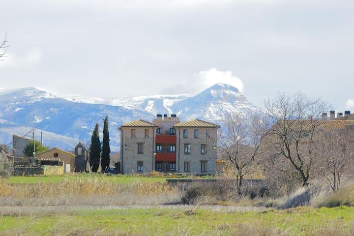 Apartamento Atardeceres d'Aragón (Huesca)