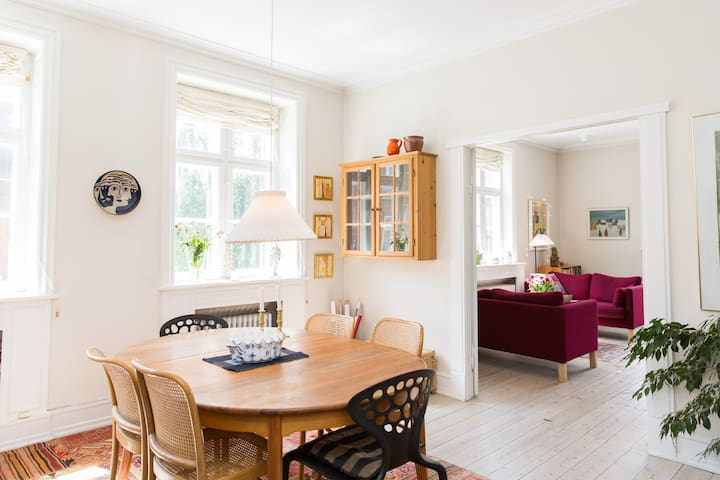 Apartment with terrace and bikes - Hellerup - Daire