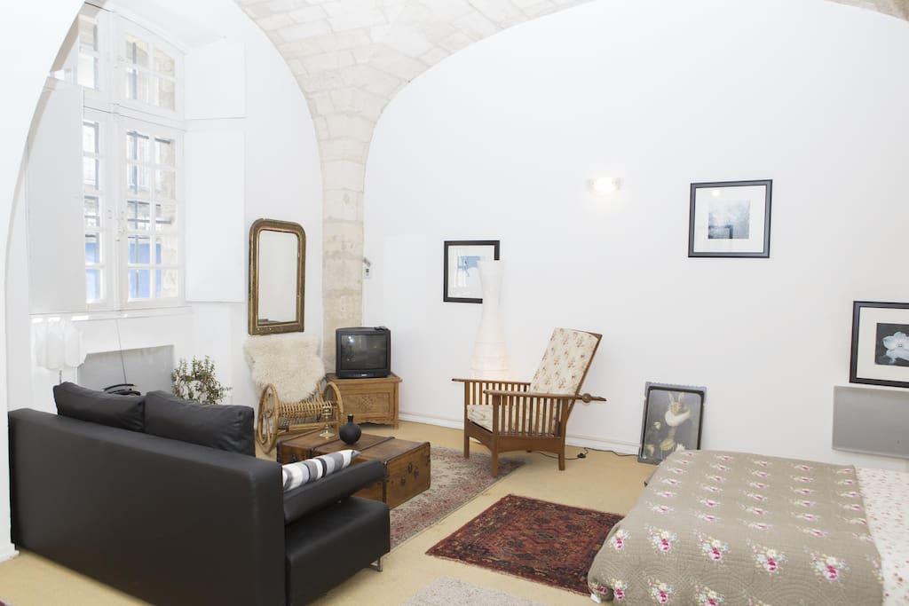 T1 centre historique parking payant 10 jour for Appartement t1 bordeaux location