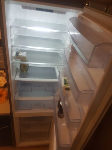 the fridge is big enough for all
