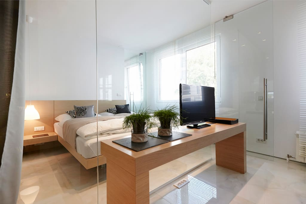 Warm, clean and contemporary design with lot of light